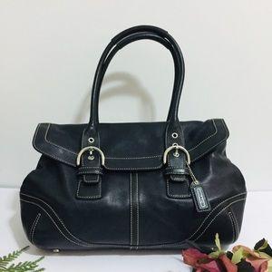 Coach 9636 Satchel Leather Handbag
